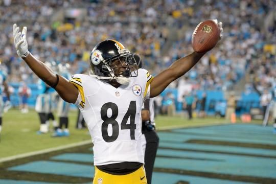 Pittsburgh Steelers make Antonio Brown highest-paid wide receiver in NFL history