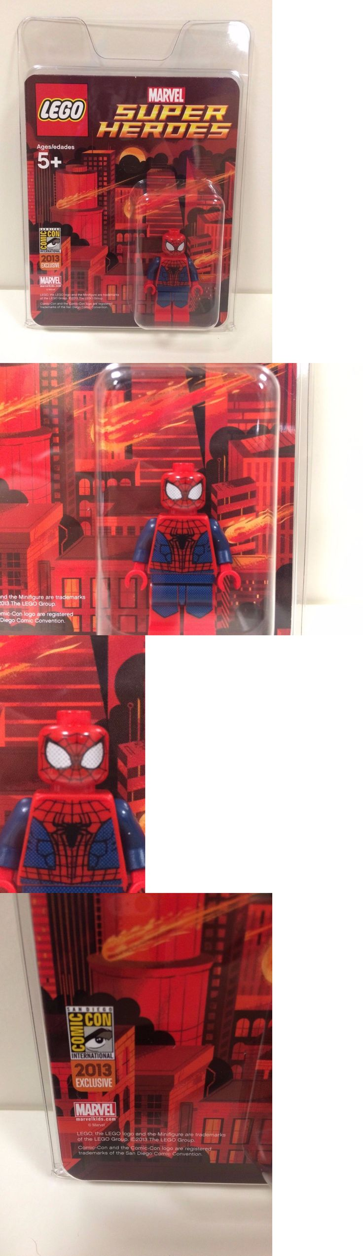 Minifigures 19001: Lego Comic Con Sdcc 2013 Spider-Man Authentic W Pack Authentic 1 Of 350 Rare -> BUY IT NOW ONLY: $3000 on eBay!