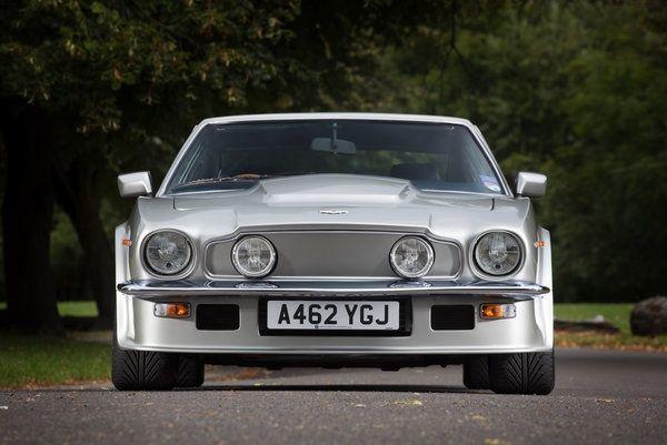 1983 Aston Martin V8 Vantage. Mean from the front. - LGMSports.com