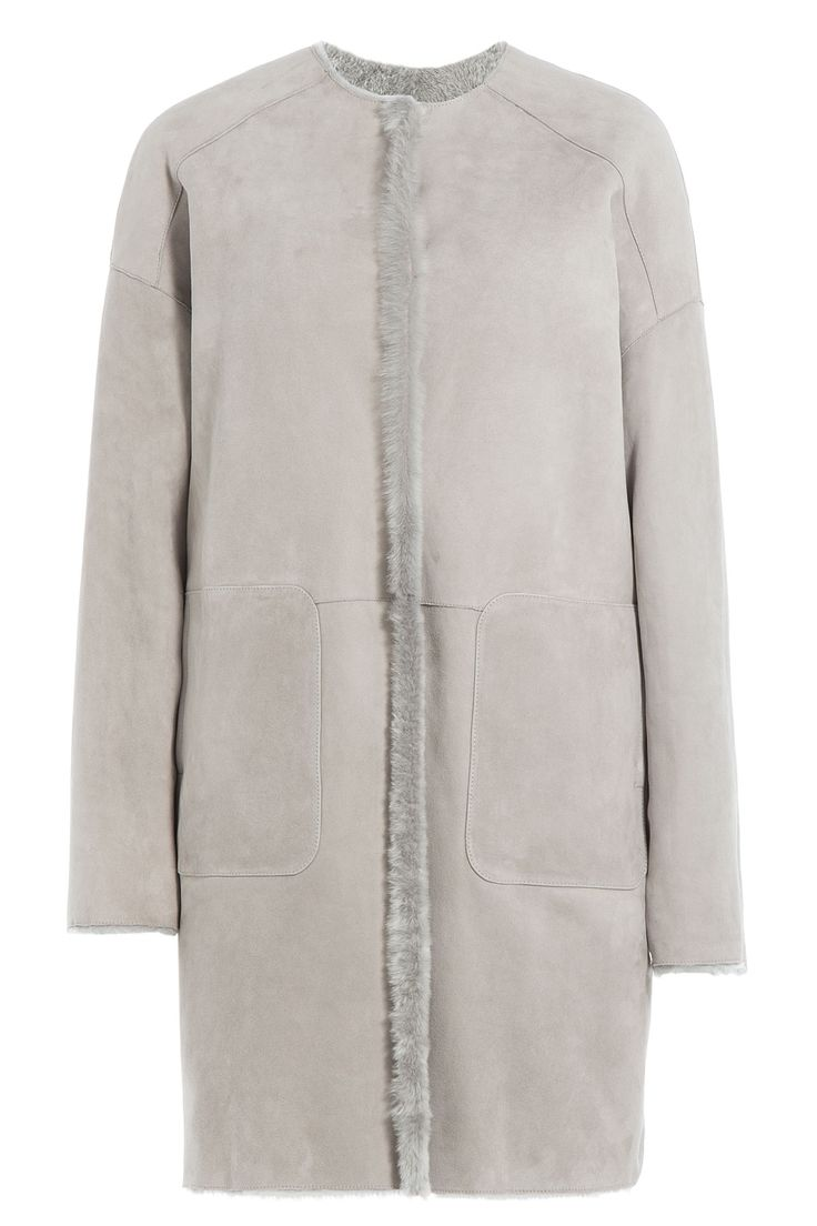 Yves Salomon Reversible Sheepskin Coat Gr. FR 36 | STYLEBOP saved by #ShoppingIS