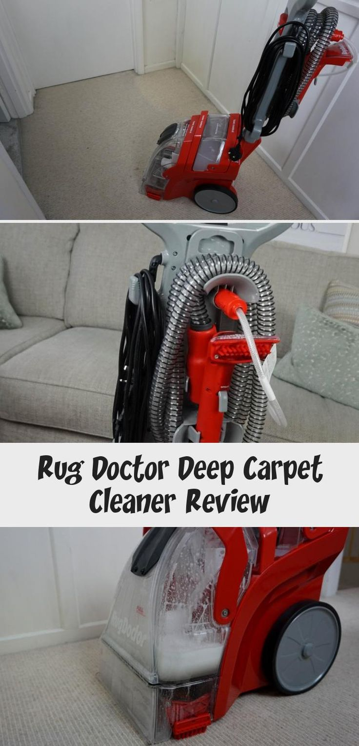 Rug Doctor Deep Carpet Cleaner Review. Are you looking at