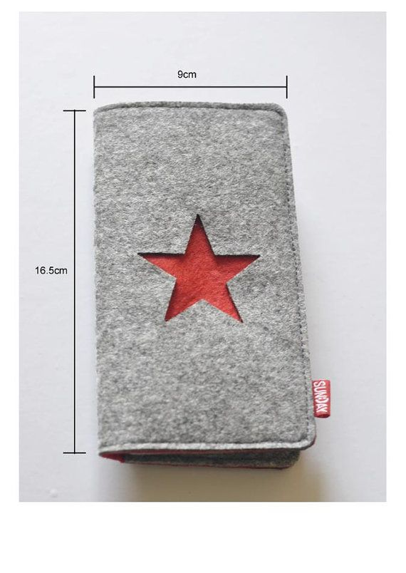 Bezoek onze webshop voor alles stijlvoller iPhone hoesjes - #leather iphone case and card holder   iphone 4/4S and 5 Case Wallet-Handcrafted Organic Wool Felt- Credit Card Case- Business Card Holder- eco friendly- great gift for men - http://lereniPhone5hoesjes.nl