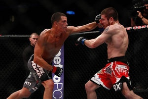 Nate Diaz vs Jim Miller