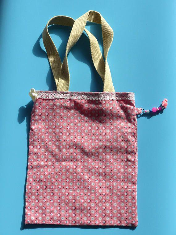Tote bag pour enfant  Sac pour enfant  Sac à goûter  Sac à