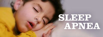 The serious problem of obesity in children is a concern for another reason: the enhanced incidence of sleep apnoea.