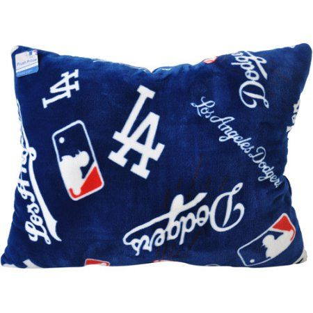 MLB Dodgers Pillow, Multicolor