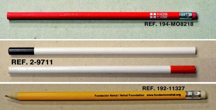 Lápices de madera redondos para Regalos de Empresa#ESCRITURA #LAPICESCONTULOGO