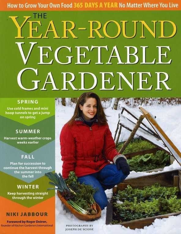 Year Round Vegetable Gardener - Pinetree Garden Seeds - Books