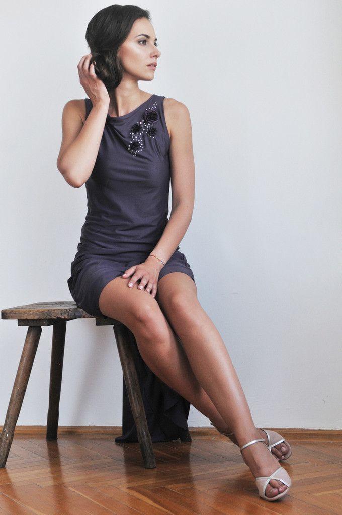 Dress with hand beading – ILLANGO