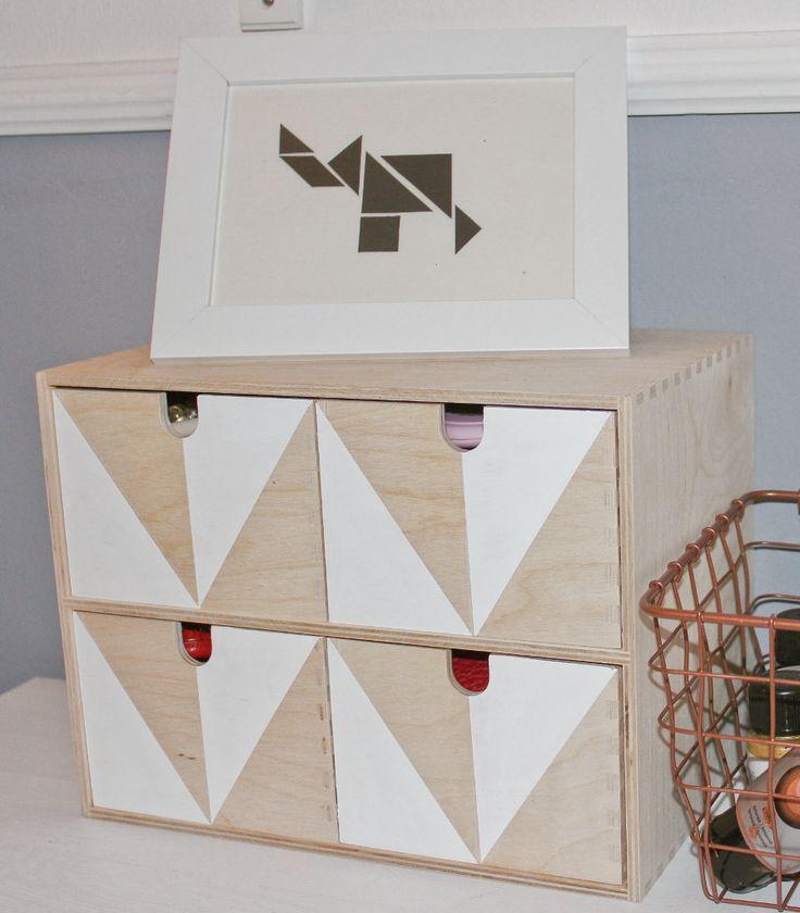 ars textura: Moppe Hack... jetzt kommt Ordnung auf den Schreibtisch, elephant tangram, tangram, Elefant, Ikea Hack