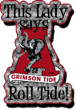 Funny Alabama Crimson Tide | What a Lady! | Alabama Crimson Tide Pictures | TidePics.com