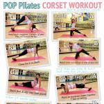 POP Pilates: CORSET WORKOUT Printable is here! Lots of free Pilates videos!