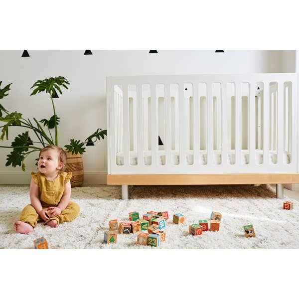 Organic Crib Sheet Light Gray Abacus In 2020 Organic Crib Sheets Crib Sheets Organic Cotton Crib Sheets