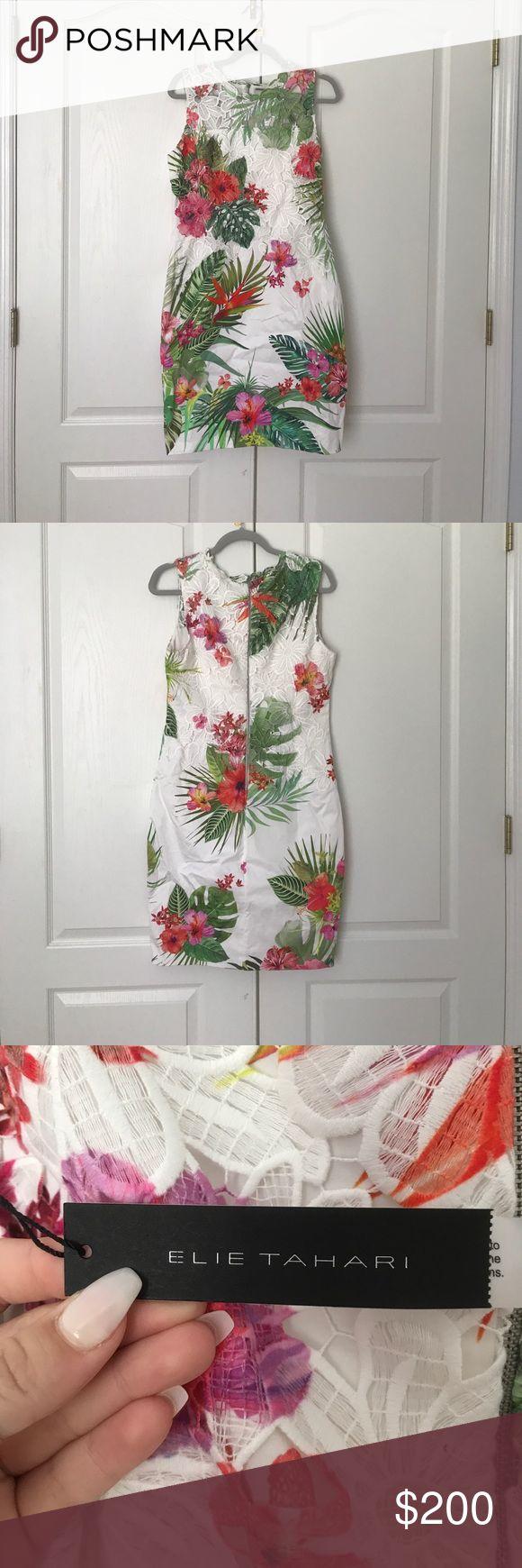Elie Tahari Dress Elie Tahari floral dress Elie Tahari Dresses Midi