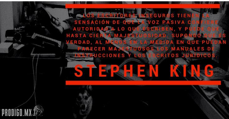 voz activa stephen king pródigo studio