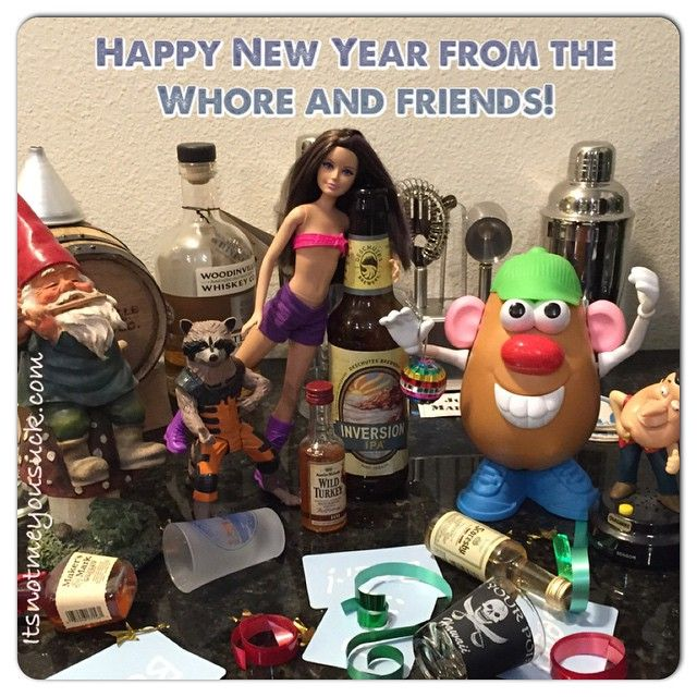 Whore in the Drawer: Whore and Friends wishing you a happy New Year!