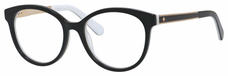 Kate Spade Caylen Eyeglasses | 50% Off Lenses and Add-Ons! +   | Prescription lenses, designer frame, Price Match Guarantee