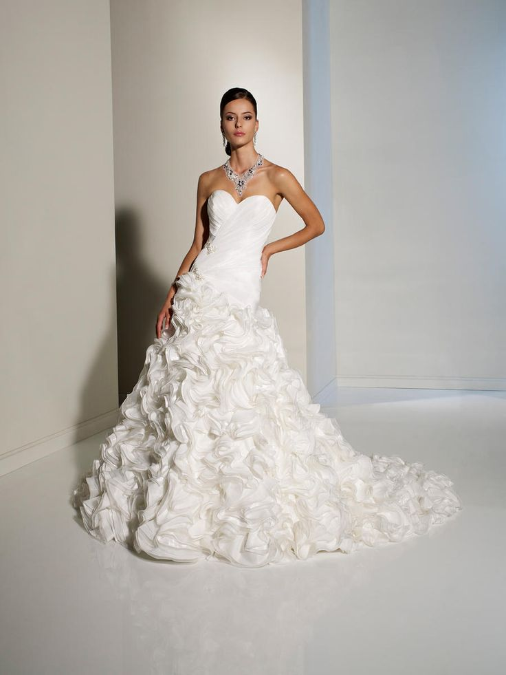 "Sophia Tolli ""Iduvina""    Chic and fashion forward--perfect for the stylish bride!    Style Sophia Tolli Y11232"