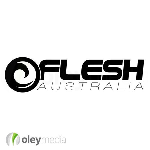 Logo Design Brisbane | Flesh Australia | http://www.oleymediagroup.com.au/portfolio/logo-design/ #LogoDesign