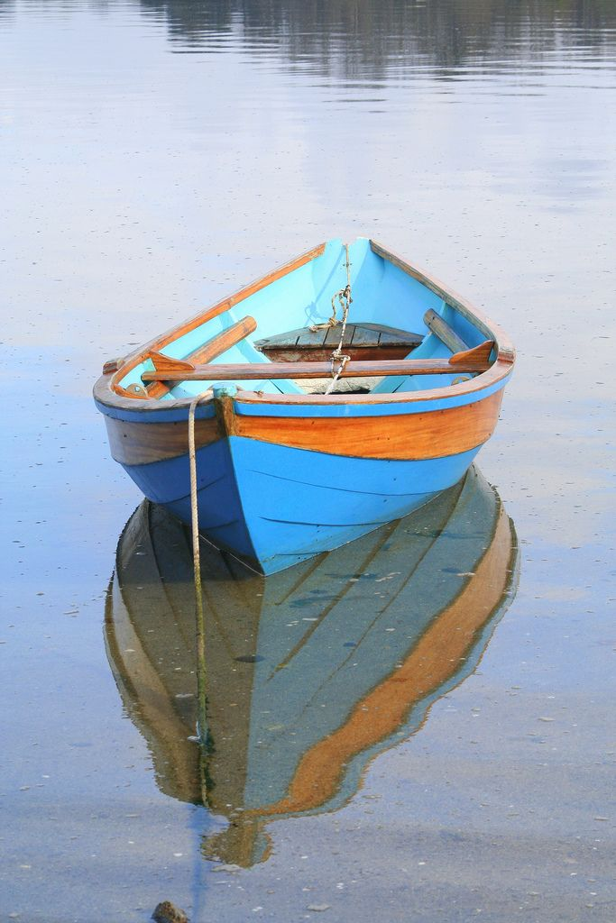 Blue boat, Cap Coz | Flickr - Photo Sharing!