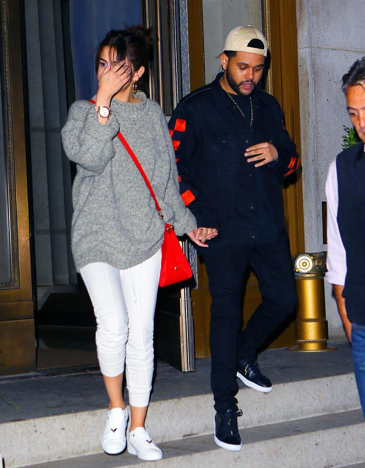 September 3: [More] Selena leaving Nobu with The Weeknd in New York, NY