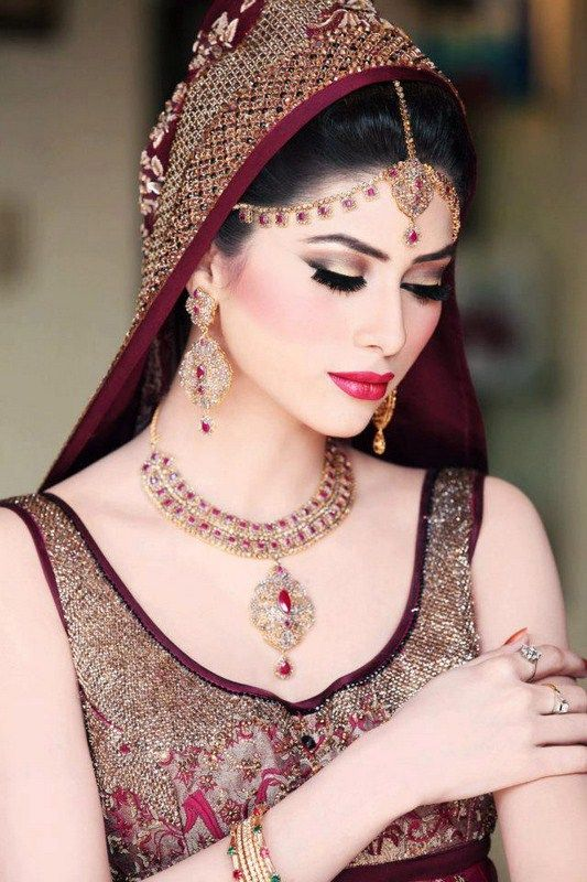 pakistani wedding bridal jewelry 2015 (9)