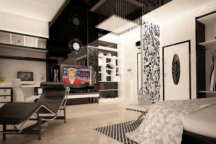 #blackandwhitebedroom bedroom design, with black and white color theme