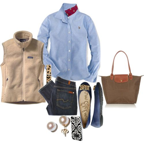YES: Patagonia Vest, Fashion, Style, Fall Wint, Fall Looks, Fall Outfits, Flats, Casual Outfits, Everyday Outfits