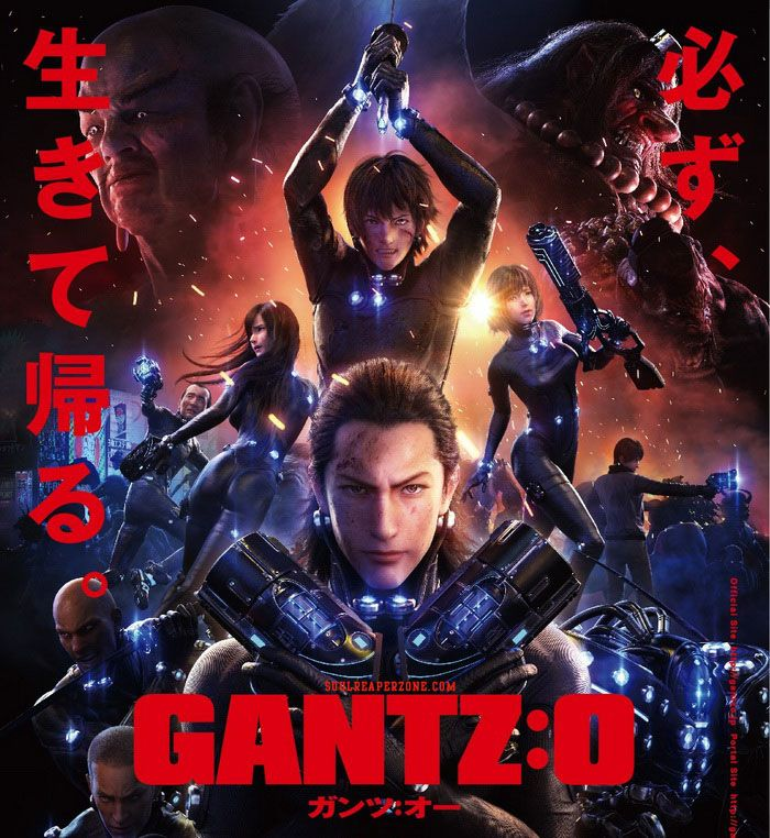 GantzO Bluray [BD] Dual Audio 6Ch Episode H264 + HEVC