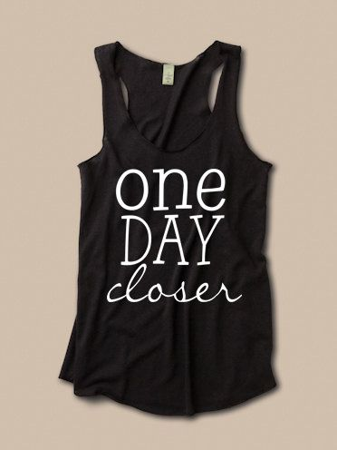 One Day Closer Tank. Deployment at ease designs usmc navy army usaf uscg clothing on Etsy, $27.00