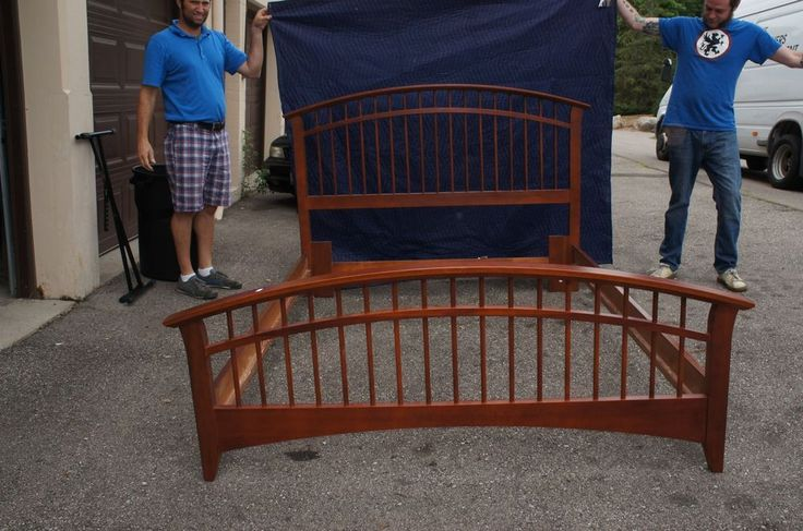 Details About Queen Size Bed Frame Headboard Footboard