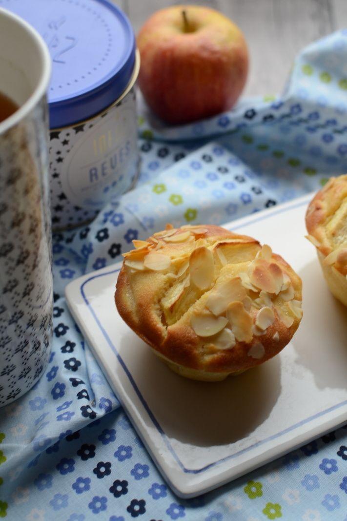 Petits cakes à la pomme et amandes