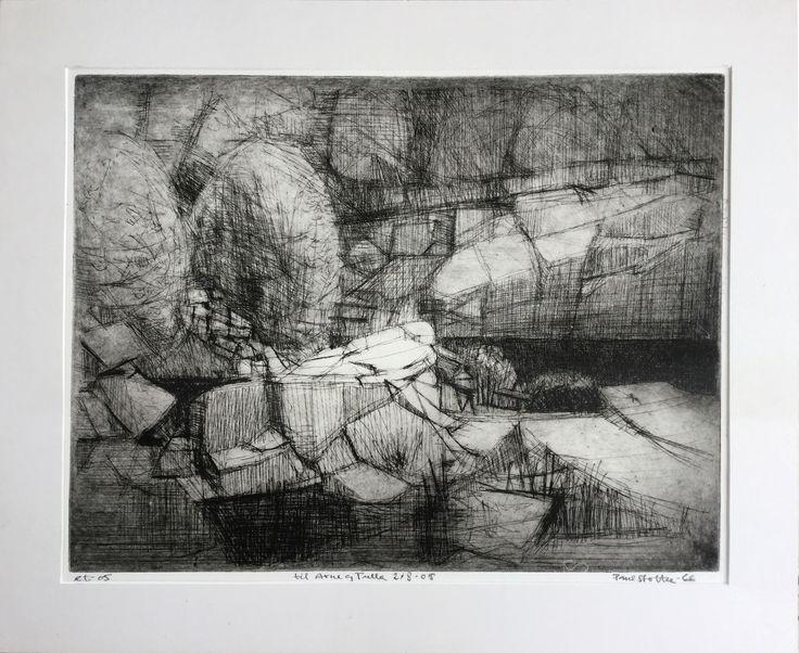 Paul Stoltze Quarry  Drypoint (Pharyah)