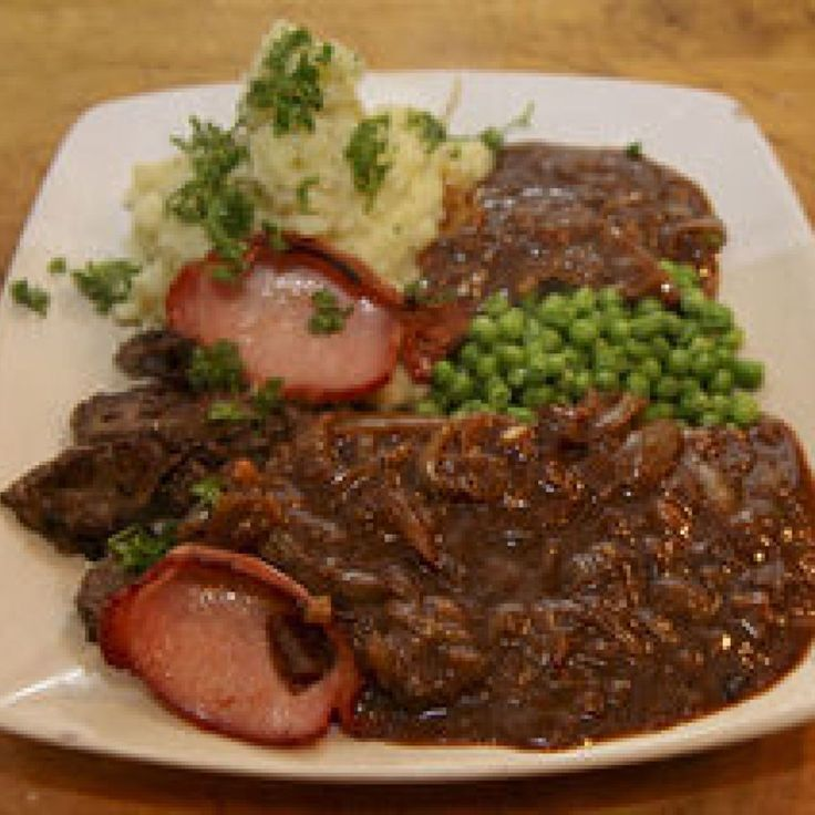 Liver & Onions with Gravy Recipe   Just A Pinch Recipes