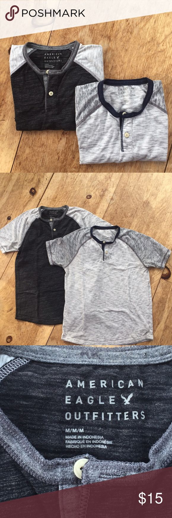 Set of Two American Eagle Shirts Both Size M American Eagle Outfitters Shirts Tees - Short Sleeve