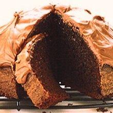 Recipe: Maida Heatter's Chocolate Cake (using sour cream and boiling water) - Recipelink.com