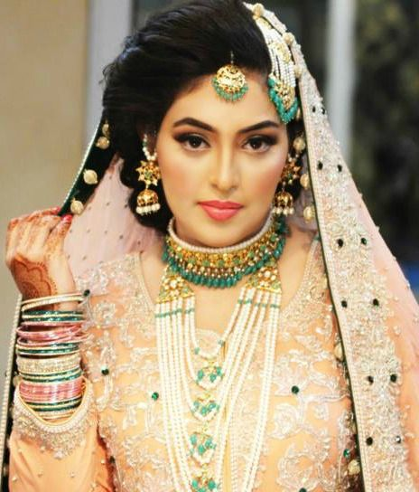 Pakistani Bride - Natasha Salon Bridal makeup.....gorgeous bride