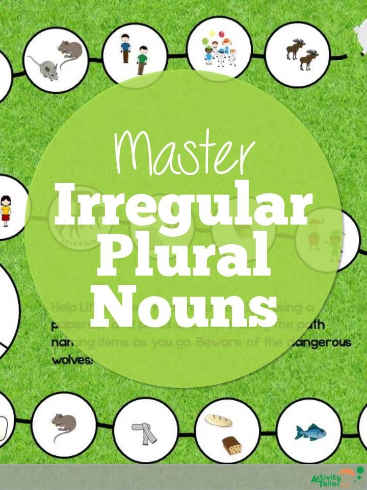 Targeting Irregular Plural Nouns In Speech With Images