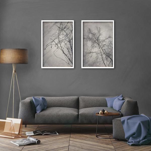Two Large 'Shadowplay' prints - 2x 60x90cm prints