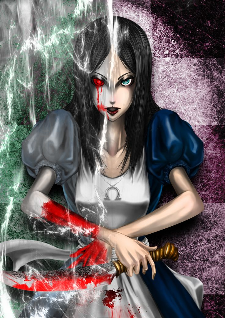 Alice Madness - Close to what I want for my Madness tattoo!