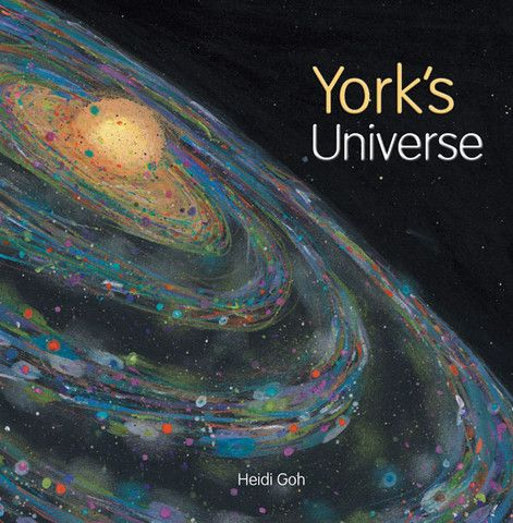 'York's Universe' - a #childrensbook by #HeidiGoh. York lives in the #city but a chance encounter opens him up to the possibilities of the world beyond.