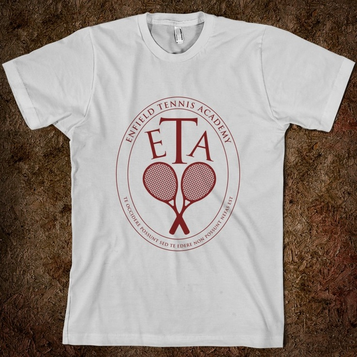 E.T.A. Tee from Infinite Jest (more nerd than style, I guess)
