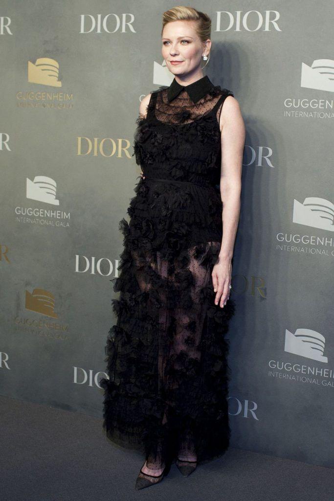 Kirsten Dunst in Christian Dior Spring 2018