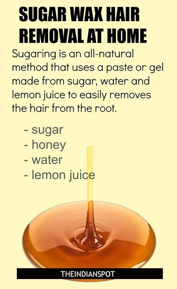 Sugaring – Sugar Wax Hair Removal at home