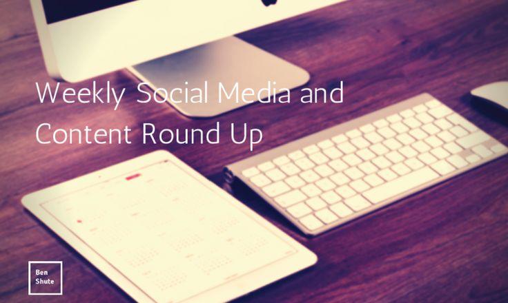 Weekly #SocialMedia and #Contentmarketing Round Up - 26th April http://ben-shute.com/2015/04/weekly-social-media-and-content-round-up-26th-april/?utm_content=buffer45eb7&utm_medium=social&utm_source=twitter.com&utm_campaign=buffer