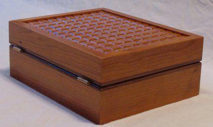 Patterned Top Keepsake Box