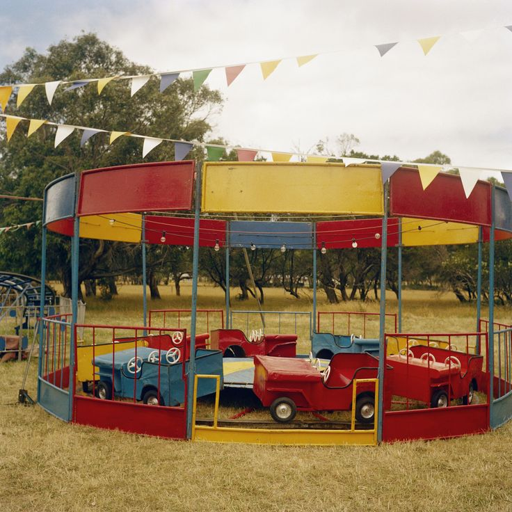 Fairground Cars, 2000 - Glenn Sloggett