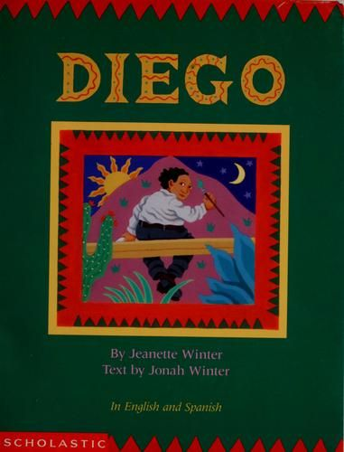 Diego by Jonah Winter, unpaged