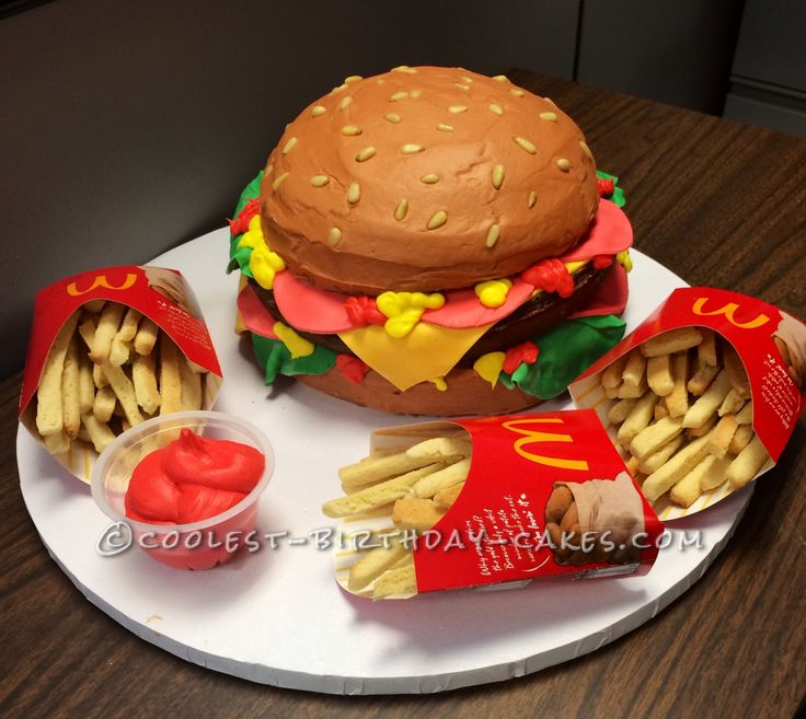 56 Best Images About Hamburger Cakes And Party Suggestions