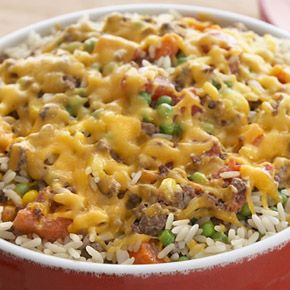 UNCLE BEN'S® Easy Rice Recipes | Beef & Rice Casserole